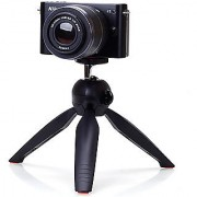 Deals e Unique Mini Camera Stand Tripod Mount with Phone Holder ClipGopro Smartphone Compact Cameras and DSLRs