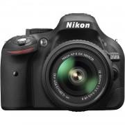 Nikon Cámara réflex Nikon D5200 Negro + objetivo AF-S DX Nikkor 18-55mm f/3.5-5.6G VR II