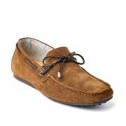 Croft Perry Shoes Tobacco Suede FLP711