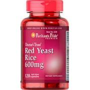 red yeast rice - levure de riz rouge 600 mg 120 capsules