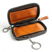 Genuine Leather Card Holder Coin Bag Key Bag Car Key Case