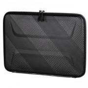 Универсален калъф за лаптоп HAMA Protection, до 36 см (14.1 инча), удароустойчив, пластмасов, Черен, HAMA-185633