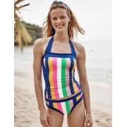 Boden Gelb/Kirschblütenrosa, Gestreift Santorini Bikinihose Damen Boden, 38, Pink