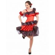 Vegaoo Flamenco Kostüm für Damen