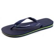 Havaianas Brasil Logo slippers Blauw HAV51