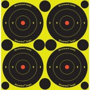 "Birchwood Casey Shoot-N-C Target - 3"""" Bullseye, 48 Pack"