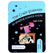 The Crazy Scientist Lab Kit - Young Researchers 20 Amazing Science Tricks
