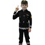 Politimand Deluxe 104 cm. (Politi Fastelavnstøj Udklædning)