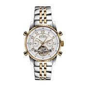 【85%OFF】230-H Air Professional Bicolour silber ラウンド ウォッチ シルバー ファッション > 腕時計~~メンズ 腕時計