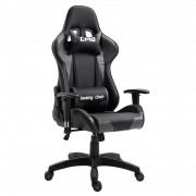 CARO-Möbel Bürodrehstuhl GAMING in schwarz/grau