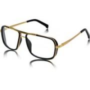 fashion sunglasses Rectangular Sunglasses(Clear)