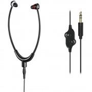 Thomson HED4408 Steto tv in ear slušalice u ušima kontrola glasnoće crna