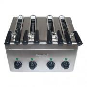 CaterChef Appareil Croque Monsieur 4 Pinces pour utilisation immédiate - 31x38x(H)29cm - 2400W