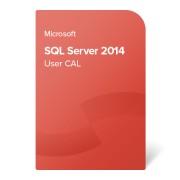 Microsoft SQL Server 2014 User CAL, 359-06322 elektronikus tanúsítvány