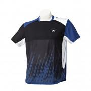 Yonex Malvin Polo Boy Black/Blue Size 140 140