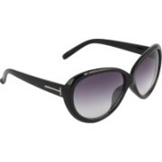 Zyaden Oval Sunglasses(Black)