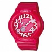 reloj iluminador de neon BGA-130-4B casio baby-g - rosa