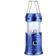 X-EON LED Emergency Solar Light USB Mobile Charging Point Night Travel Camping Lantern- Assorted Colours
