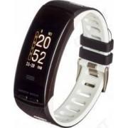 Smartband Garett Fit 23 GPS Bluetooth Monitorizare activitati Black White