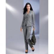 Barbara Schwarzer 'platina'-blazer of -pantalon, 36 - platinagrijs - blazer
