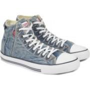 Levi's Original RT - HI High Ankle Sneakers For Men(Blue)