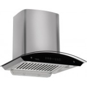 Hindware cleo 60 Wall and Ceiling Mounted Chimney(black 1200 CMH)