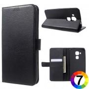 Huawei Nova Plus Magnetic Wallet Кожен Калъф и Протектор