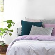La Redoute Interieurs Capa de edredon em algodão, AGRUMOEstampado Violeta-Claro- 260 x 240 cm