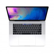 Apple MacBook Pro 15 Touch Bar, Touch ID, 6-Core i7 2.2GHz, 16GB, 256GB SSD, Radeon Pro 555X w 4GB (сребрист) (модел 2018)