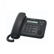 Panasonic Panosonic Kx-Ts580ex1 Telefono Con Filo Display Lcd Vivavoce Colore Nero