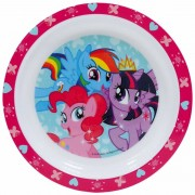 My Little Pony Kinder/peuters ontbijtbordjes My Little Pony 24 cm