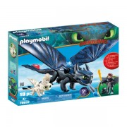 Hiccup, Toothless si pui se dragon
