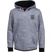 DFND London Junior Wilshaw Hoodie Grey Marl