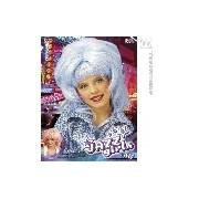 Sharon paróka (rózsaszín kék)