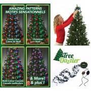Instalatie luminoasa pentru brad cu 64 Globuri LED si 16 culori,Tree Dazzler