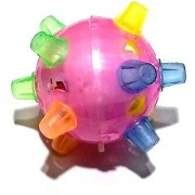 Nawani Dancing Ball Jumping Bouncing Ball for Kids Toys Funny Vibrating Kids Toy Size - 10/10