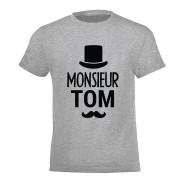 YourSurprise T-shirt - Enfant - Gris - 8 ans