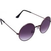 Just Style Round Sunglasses(Grey)