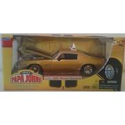 Jada 90532Y 1971 Chevrolet Camaro Ss Yellow 1-24 Diecast Car Model