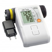 Tensiometru electronic de brat Little Doctor LD 3A, adaptor inclus, afisaj LCD, memorare 90 valori, Alb