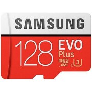 Samsung MB-MC128GA/AMZ 128 GB 100 MB/s klass 10 U3 minne Evo plus M...