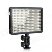 Godox 21W 5600K 380-LED de video luz de la lampara w / remoto inalambrico - Negro