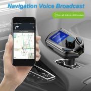 Modulator FM cu Bluetooth MP3 X8 cu afisaj Original
