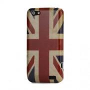 Ретро твърд гръб с британския флаг за HTC Desire 601 Zara