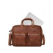 Cowboysbag-Laptoptassen-The College Bag 15.6 inch-Bruin