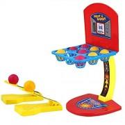 NACOLA Basketball Shooting Game, Kids Fun Sports Toy Desktop Table Basketball Games Classic Arcade Games Basketball Hoop Set