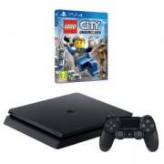 Конзола PlayStation 4 Slim 500GB Black, Sony PS4 + Игра Lego City Undercover (PS4)