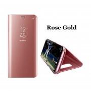 Caja Del Teléfono Flip Espejo Funda Protectora Para IPhone 6/6S/6plus//6Splus/iPhone7/iPhone7plus/iPhone X-Rosa Dorado