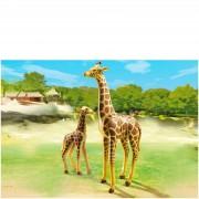 Playmobil Giraffe with Calf (6640)