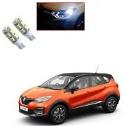 Auto Addict Car T10 9 SMD Headlight LED Bulb for Headlights Parking Light Number Plate Light Indicator Light For Renault Captur